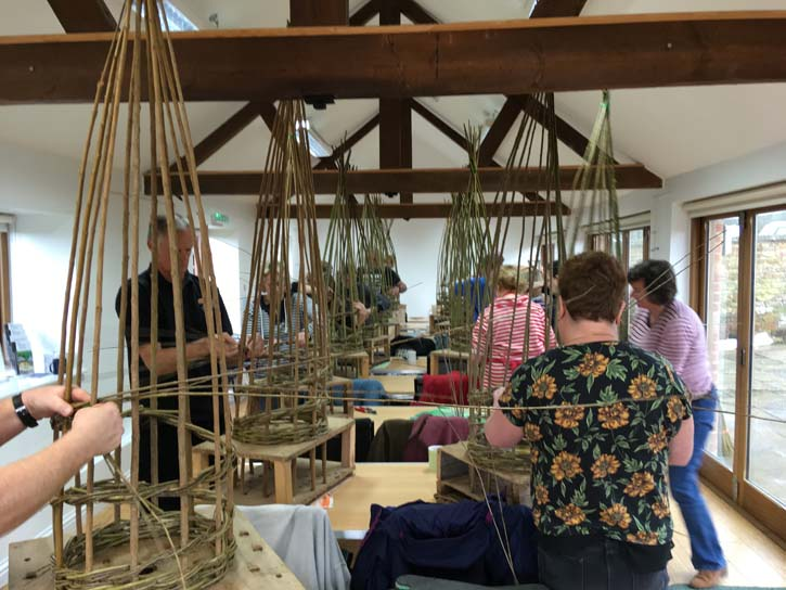 Willow Weaving Weekend