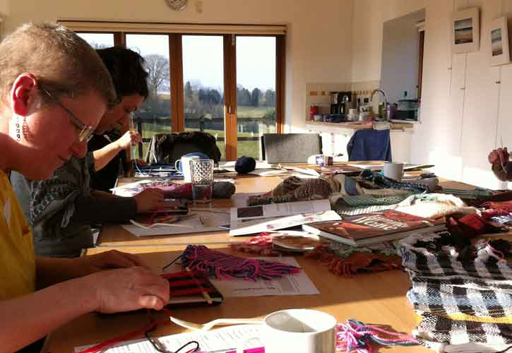 Painted & Printed Fabric or Paper