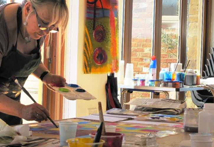 Painting and Printed Fabrics