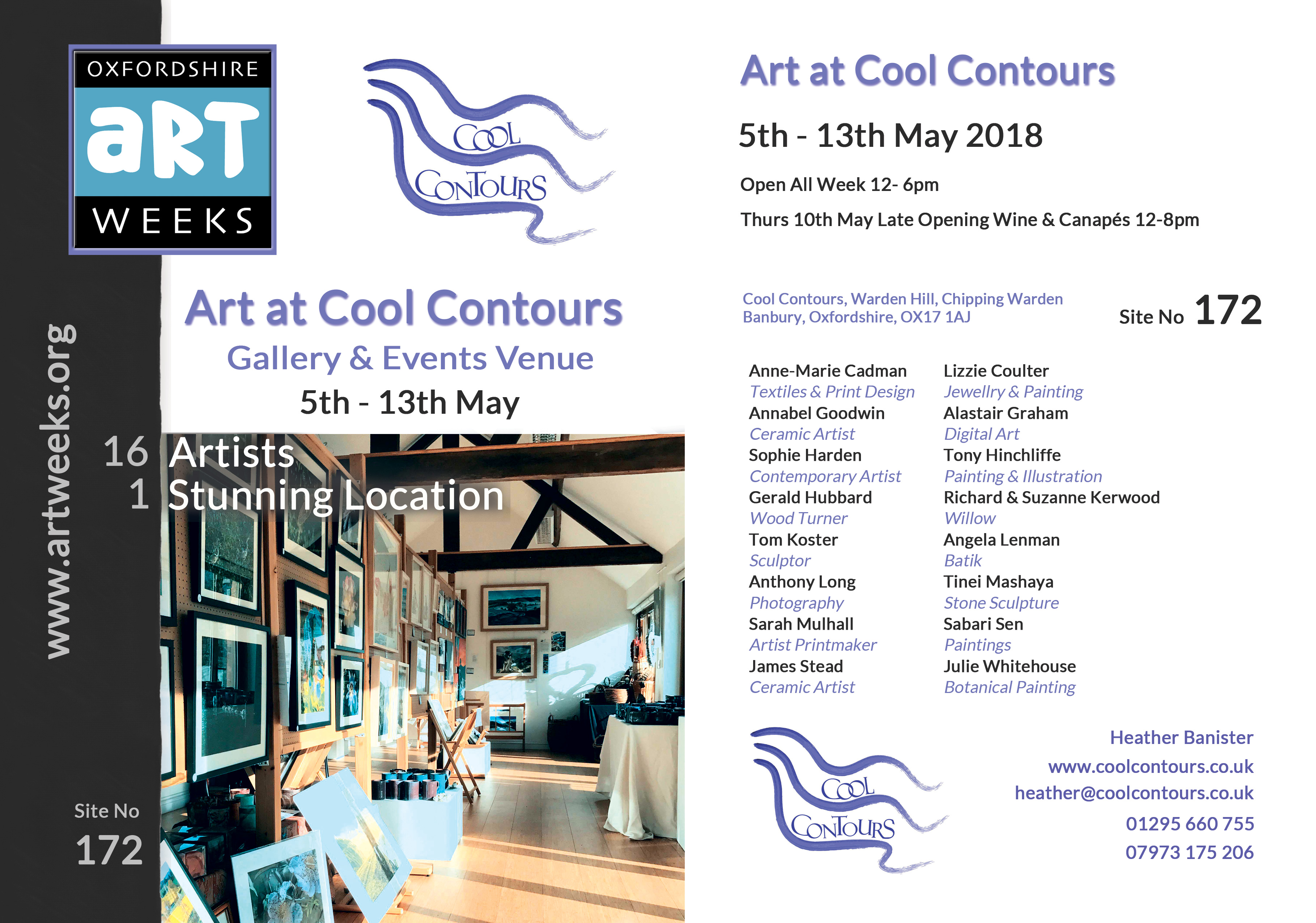 Oxfordshire Art Weeks 2018